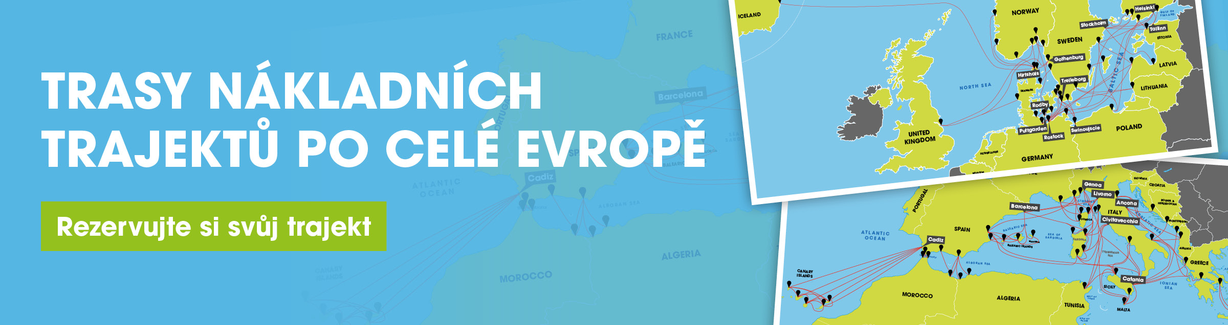 Freight Ferry Routes Across Europe Book Your Ferry