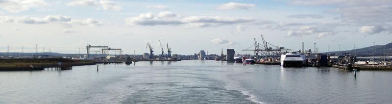 Belfast port
